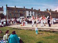 Morris Dancing on Green